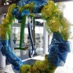 blueandgreen wreath