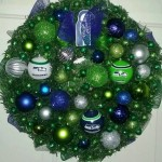 seahawks wreath